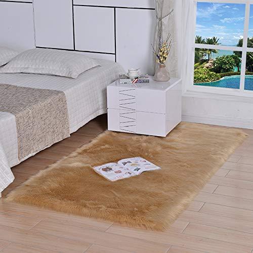 YANGWEI Winter Nachahmung Wolle Hause Schlafzimmer Wohnzimmer Hotel Nicht Fusselfreien Decken Erker Kissen Teppich Matte