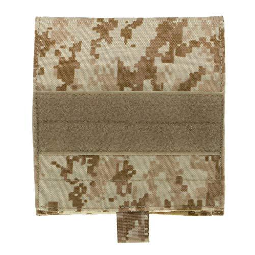 Sharplace Sac à Bandoulière Militaire Sacoche de Taille Bagage de Voyage Randonnée - Camouflage Kaki, comme décrit