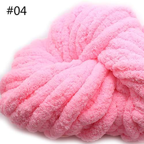 VIccoo 250g super zachte warme chenille deken garen handgemaakte grove wol garen breien DIY deken tapijt sjaal hoed handschoenen - 9