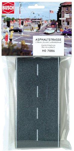 Busch H0 asfalt weg