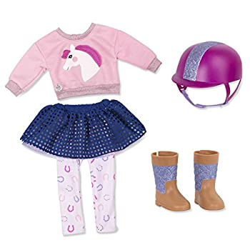 Glitter Girls by Battat - Gallop & Glow! Outfit -14  Doll Clothes - Toys Clothes & Accessories For Girls 3-Year-Old & Up