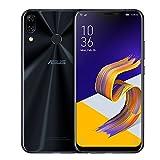 "ASUS Zenfone 5 2018 (ZE620KL) Dual SIM 64GB 4GB RAM 6.2"" 16MP SIMフリー (Midnight Blue/ブラック)"