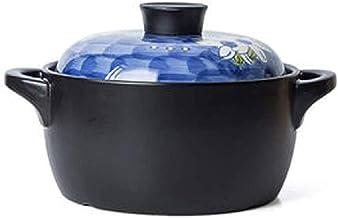 BAPYZ Ceramic Casserole Cooker, Household Gas Soup Stew Casserole, Stone Pot, Fish Bibimbap, Ceramic Pot
