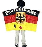 HAAC Umhang Flaggenumhang in Deutschlandsfarben Deutschland Fußball 2014