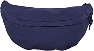 TRIBE - Navy blue cotton bum bag