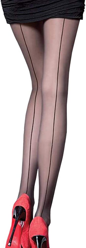 2 Pack Women Backseam It is very popular Pantyhose Nylon Cl Sheers Sexy Party Max 90% OFF Ultra