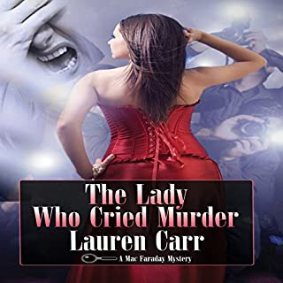The Lady Who Cried Murder audiobook cover art