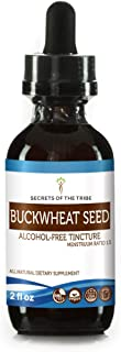 Buckwheat Seed Tincture Alcohol-Free Liquid Extract, Organic Buckwheat (Fagopyrum Esculentum) Dried Sprouting Seed (2 FL OZ)