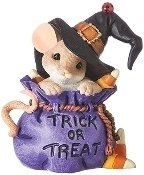 Charming Tails You Re Bewitchingly Sweet Mouse In Trick Or Treat Bag