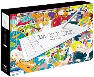 Wacom ペンタブレット Mサイズ ホワイト イラスタMini&コミスタMini付属 Bambooコミック CTH-670/W2