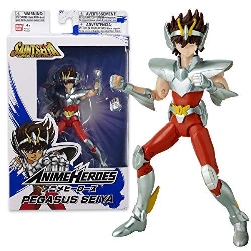 Bandai. Anime Heroes. Saint Seiya, i Cavalieri dello zodiaco. Action figure Anime heroes 17 cm. Seiya di Pegasus. 36921