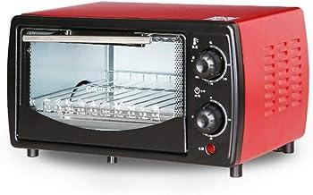 BTSSA Horno eléctrico de sobremesa,Microondas con Grill,700W, 12 litros,Ventana y función Horno hasta 200º C
