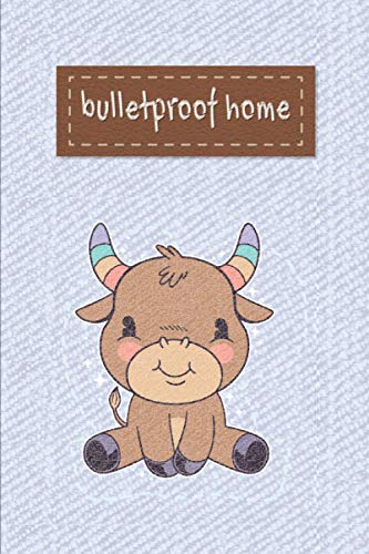 bulletproof home: 6* 9 with 120 pages,student planner college,bulletproof home,the function of ornament,weekly homework planner 2021.2022