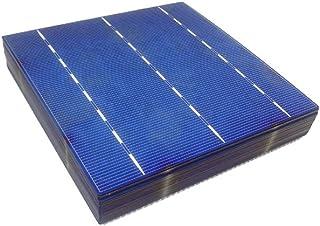 MISOL 100 st Poly Solar Cell 6 x 6 4,14 W, GRADE A, polykristallin cell, DIY solpanel, för DIY solmodul