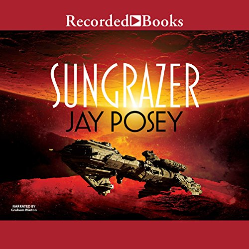 Sungrazer audiobook cover art