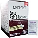 Sinus Pain Medicine Tablets, Cold Sinus Pressure Relief, Individual Dose Packets, 10 Boxes (2500 Tablets)