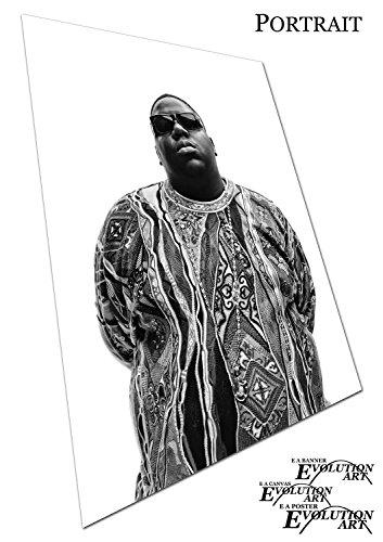 EAPoster Poster Druck Hip Hop Legende Biggie Smalls - A0