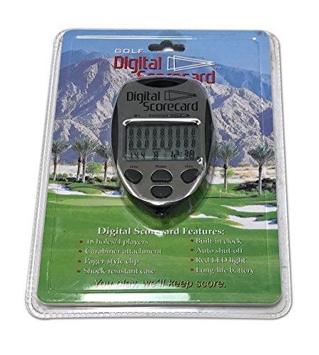 Photon Golf Digital Scorecard