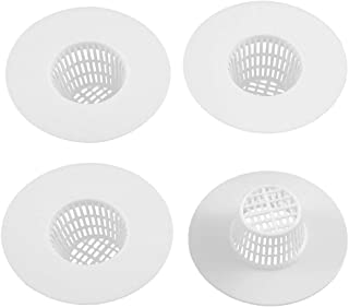 Nxtop Bathroom Plastic Drain Hair Stopper Strainers Sink Drainer White Sink Strainers Rubber Shower Traps Floor Rubber Sho...