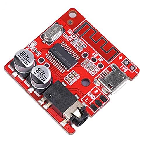 Jorzer Módulo Receptor Inalámbrico Lossless Audio Mp3 Decodificador De Altavoces Estéreo Tablero Del Amplificador Rojo, Componentes Electrónicos