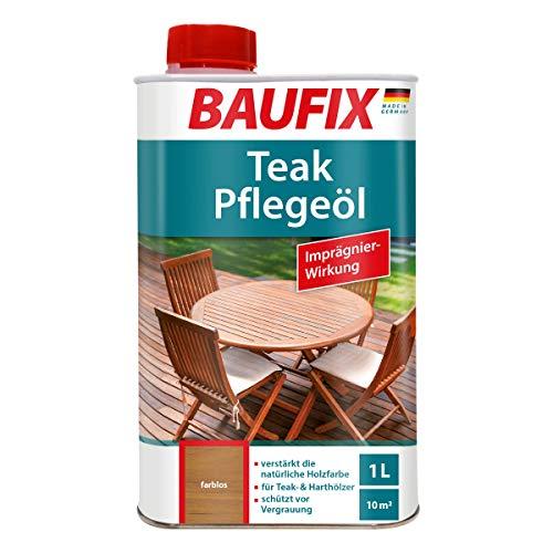 BAUFIX Teak Pflegeöl, farblos, 1L