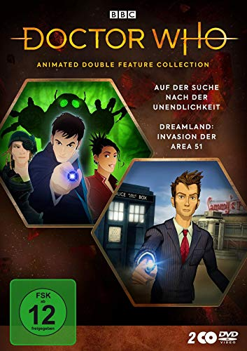 Doctor Who - Animated Double Feature Collection: Dreamland / Auf der Suche nach der Unendlichkeit