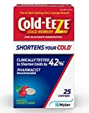 COLD-EEZE Cherry Cold Remedy Lozenges, 25 Count