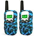 LET'S GO! DIMY Walkie Talkies for Kids, 22 Channels 3 Miles Range, Built in Flash Light and LCD Screen, Best Toys for 3-12 Years Old Kids Perfect for Home, Outside Adventure, Camping - Best Gifts by LET'S GO!