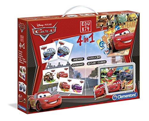 13779 Cars 2 Edukit   Set de Puzzles y Juegos Infantiles (4 en 1)
