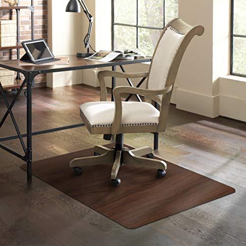 ES Robbins Trendsetter Stuhlmatte für Harte Böden, 91,4 x 121,9 cm, Dunkles Kirschholz