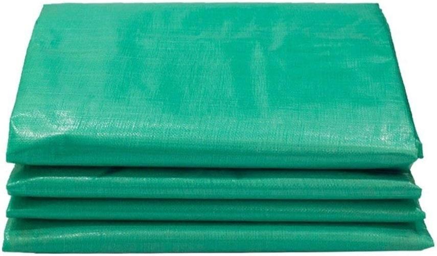 JINSH Toile imperméable épaisse bache épaisse, Vert horticole Anti-oxydation à Haute température de Prougeection Solaire translucide Coupe-Vent, Vert (Couleur   vert, Taille   5x6M)