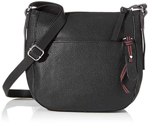 Esprit Accessoires dames Kiki Smlshldbag schoudertas, zwart (black), 9,5 x 22 x 22,5 cm