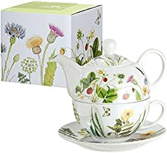 Gilde Porcelanowy dzbanek do herbaty Tea for One Wild Flowers