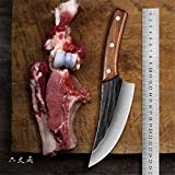 Boning Knife 6 Inch - Handmade Forged Series - 5Cr15Mov Stainless Steel -...