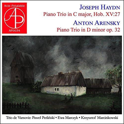 Trio de Varsovie, Pawel Perlinski, Ewa Marczyk, Krzysztof Marcinkowski