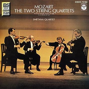 モーツァルト:弦楽四重奏曲 第17番≪狩≫&第15番