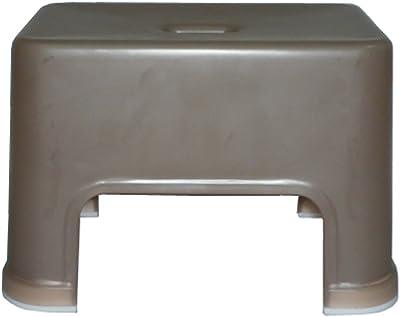 DESIGN 風呂椅子S型20cm ブラウン