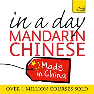 Mandarin Chinese in a Day cover art
