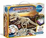 Clementoni 69491 Galileo Science - Kit de excavación El Esqueleto del Gigante T-Rex, Juguete para niños a Partir de 7 años, excavación de Fossil con Martillo y cincel, para pequeños investigadores