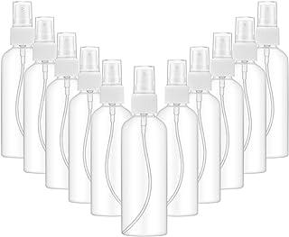 ZITFRI Contenitori Spray Vuoti da 100 ml * 10 Pcs Bottigliette Spray Vuote Flaconi Spray 100ml Spruzzini Vuoti Plastica Tr...