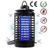 WISKEO Lámpara Mata Insectos Electrico UV, Anti Mosquitos Electrónica, Sin Sustancias QuíMicas Colgar Atrapa para Insectos Moscas