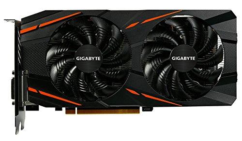 Gigabyte GV-RX570GAMING-8GD-MI Grafikkarte, 8GB schwarz