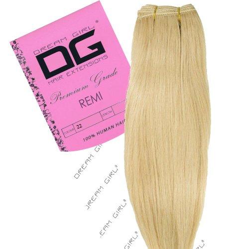 Dream Girl Extensions de cheveux Remy Couleur 22 35 cm