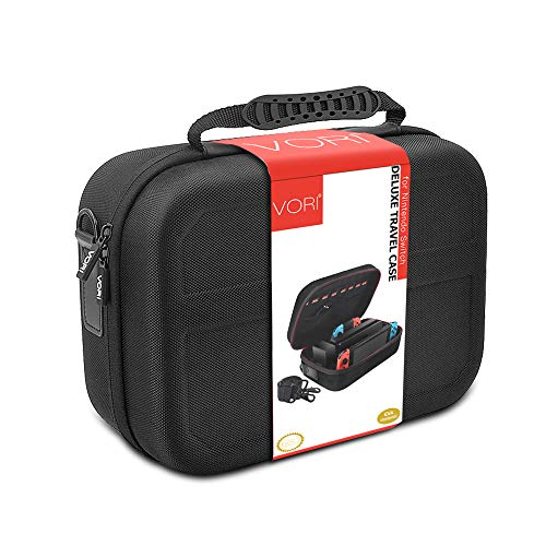 Retear Travel Carry Case for Nintendo Switch Game Portable Hard Shell Protective Storage Accessories Bag