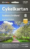 Sydoestra Småland 1:90 000: Cykelkartan