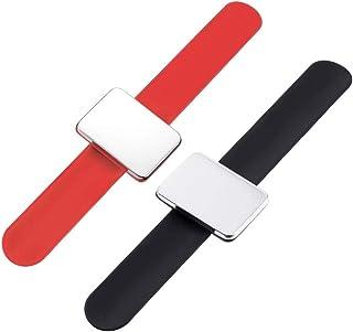 SUPVOX 3 St/ück Nadelkissen Clip Pumkin Nadelkissen Nadelkissen Handgelenk G/ürtel Pinkissen Halter mit Clip zum N/ähen Gr/ö/ße 1 Armband