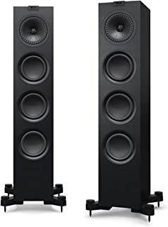 KEF Q550 Floorstanding Speaker for Small to Medium rooms (Q550 Floorstanding Speaker*, Single Speaker only, Black (Each))