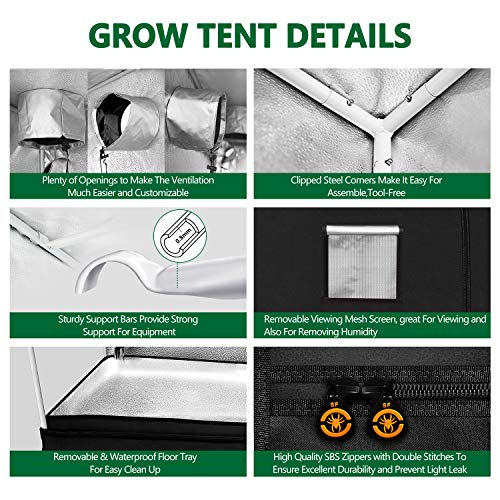 Spider Farmer Grow Tent Kit Complete