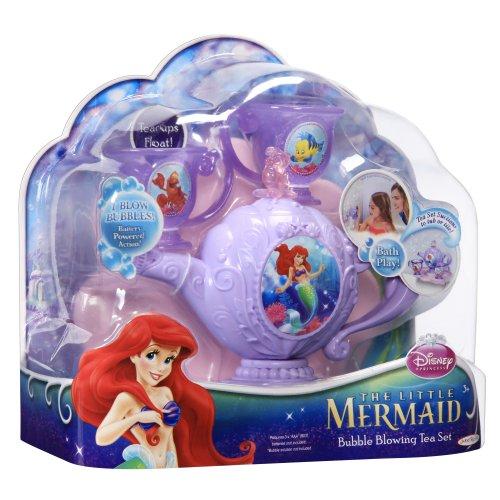 Jakks Disney Princess La Sirenita Ariel - Juego de té para la bañera