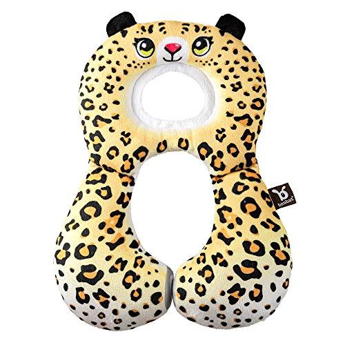 Ben-bat Leopard Voyage ami appuie-tête (1 à 4 mois, Jaune)